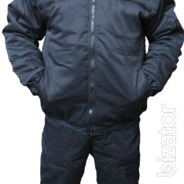 Suit for protection insulated