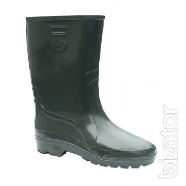 Mens boots PVC