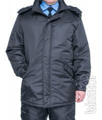 Working insulated jacket Askold black