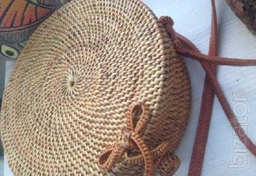 Trendy summer handbag.