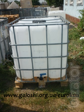 Sell Euro-cubes of pure b/Dnepropetrovsk