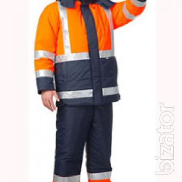 Suit male insulated