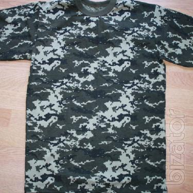 T-shirt kamuflirovannaya