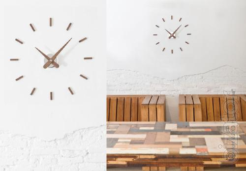 Your new designer watch is from the Spanish brand, Nomon Sunset Wall Clock, Walnu