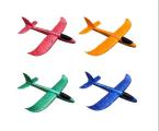Airplane glider plane throwing Styrofoam 48 cm and 36 cm OPT