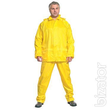 Water-resistant suit, work suit