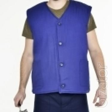 Vest insulated cotton