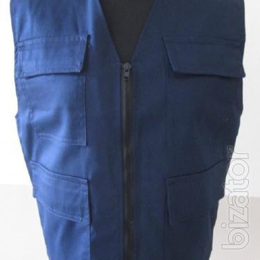 Vest mounting