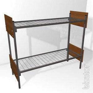 Bed with metal frame, bed, metal camp beds metallicheskaja hotels, bed metal price