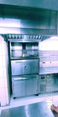 Oven on charcoal Steel Max ZMS-900 (analogue Josper) for a cafe restaurant