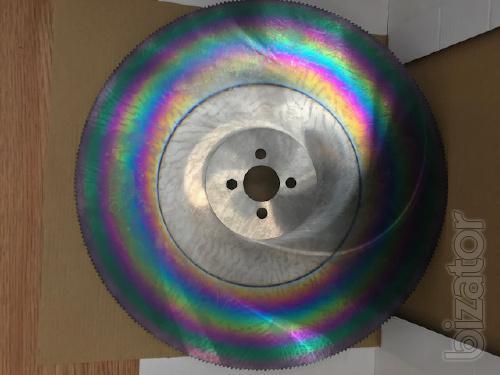 Rotary cutting mill 400х2,5х40х208 mm HSS-DMO5