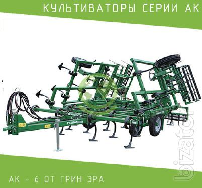 The series field cultivator AK - 6
