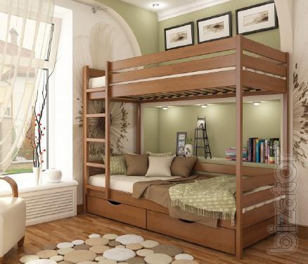 Кровать двухъярусная детская Дуэт. Акция и бонус к заказу.