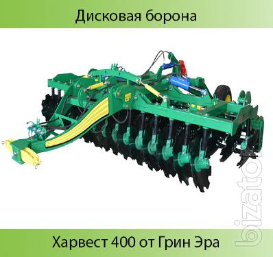 Disk harrow harvest 400