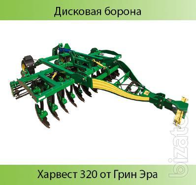 Disk harrow harvest 320