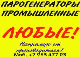 Купить промышленный парогенератор