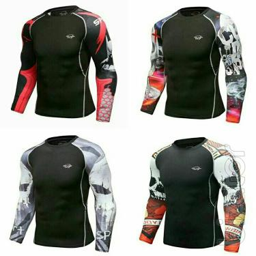 Rashguards, sportswear, compression wear edinoborstv