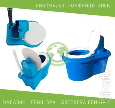 Peat biotoilet Kiev