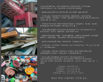 Field buy bulk waste plastics: HDPE bottle/canister, PS, PP, HDPE, LDPE