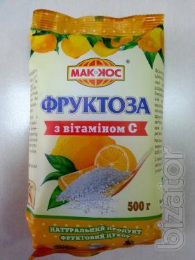 Fructose with vitamin C TM Makkos, 500g