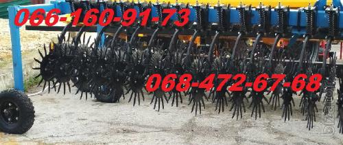 Rotary harrow - 6m for surface loosening of the soil!