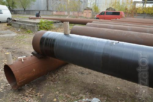 89 mm pipe insulation (very reinforced bitumen-polymer)