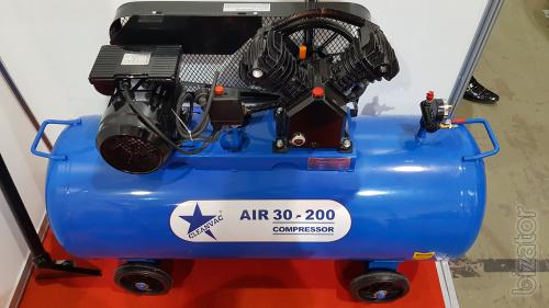 Air piston compressor Air Cleanvac 30-200 M