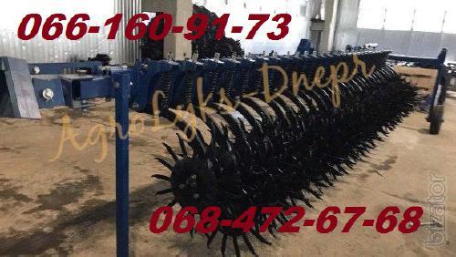 BMR-harrow rotary hoe 6m