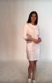 Women's medical gown Carmen, tailoring