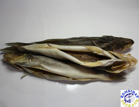 Zander dried. From 1 ton. Large and small wholesale.