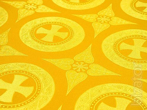 Церковная ткань, текстиль - шелк и парча