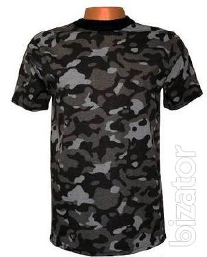 Camouflage t-shirt City t-shirt army