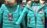 Fashionable spring jacket vest for girls 5-8 years
