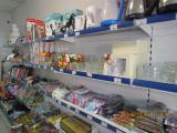 Store shelves retail, metal