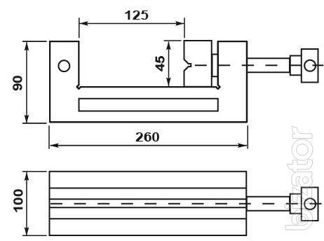 Пpeцизиoнныe шлифовальные и контрольные тиcки PSG 100 Aрт.-Nr. 128828