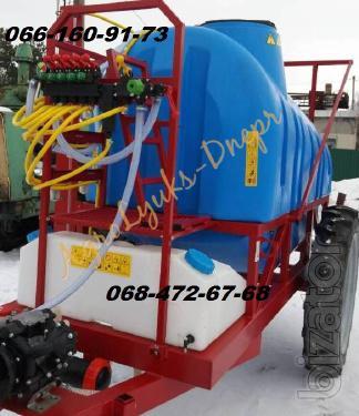 OP - 2000l (18m), 2500 l Sprayers Trailed