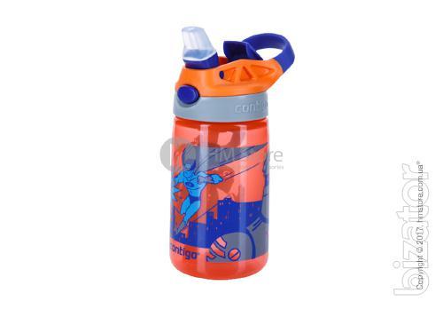 Baby Gizmo Contigo flask Flip, Tangerine Superhero