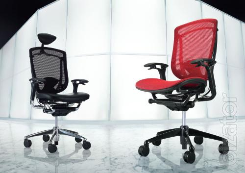 """New Chair Okamura Contessa for the head. From the representative of LLC """"Krka Suite"""""""