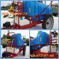 Modern trailed Sprayer with a capacity of 2000l/2500l