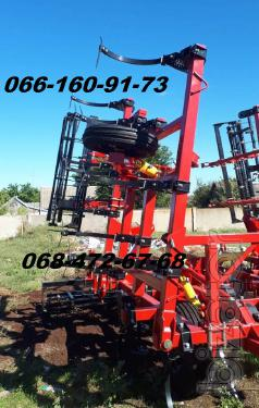 Cultivator with harrow and roller KSU-8.4 m CGS-4m