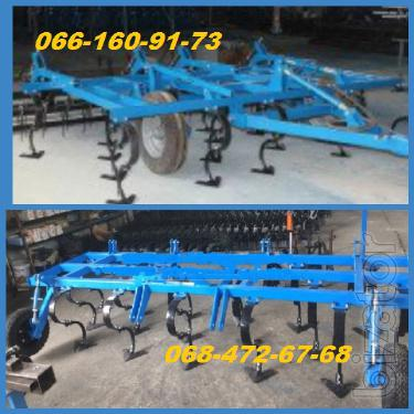 KPPO 4 cultivator of Congo 4 solid with the roller and harrow