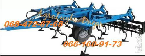 Cultivator OPC - 4 with tooth harrow and roller