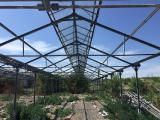 Greenhouse Anthracite, pipe 57, 60, 76, 89, 102, steel channel galvanized