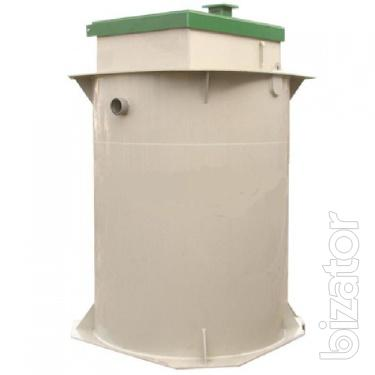 The sewage system for country houses, cottages,