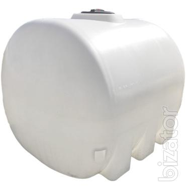 The plastic capacity of 6 m3 (6000 litres)