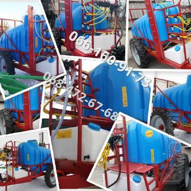2000l trailed sprayer-2500, fresh build