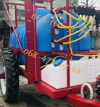 2000l trailed Sprayer-2500 ltr, 2019 issue!