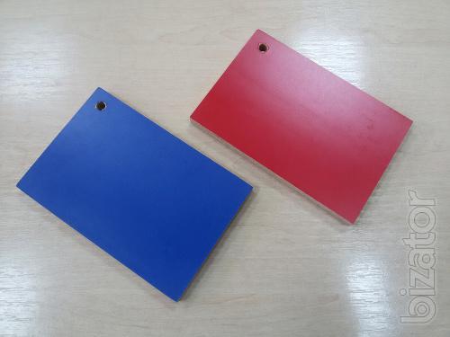 Ламинированная фанера 15 мм синего и красного цвета, поверхность гладкая, продам, Харьков, доставка