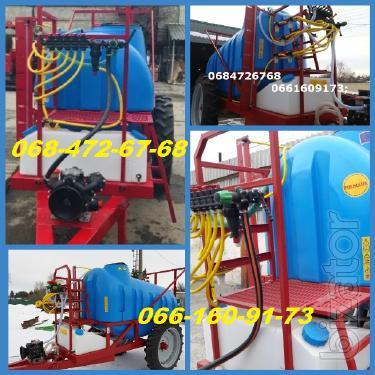 Trailed boom Sprayer Op 2000l-2500l