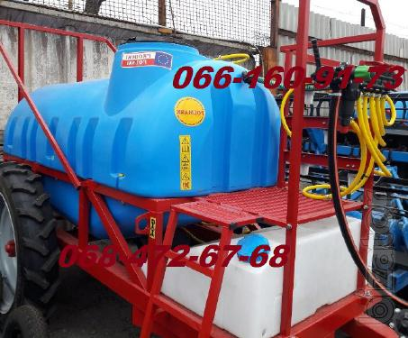Trailed sprayer OP-2000/2500 litres
